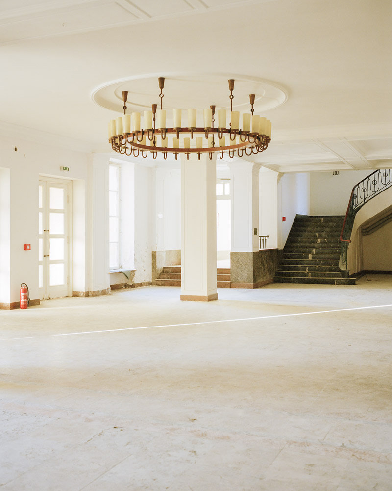 the old foyer